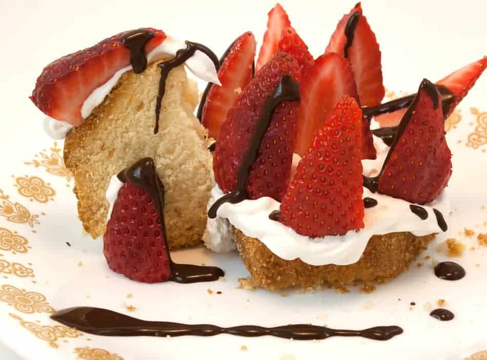 Is angel food cake vegan?