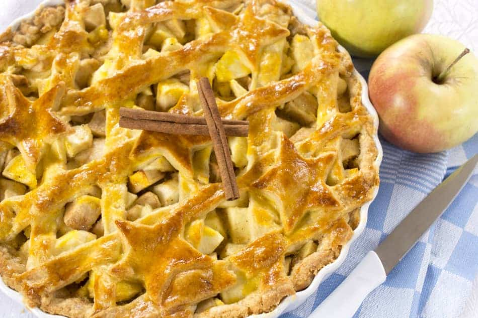 Is apple pie vegan?