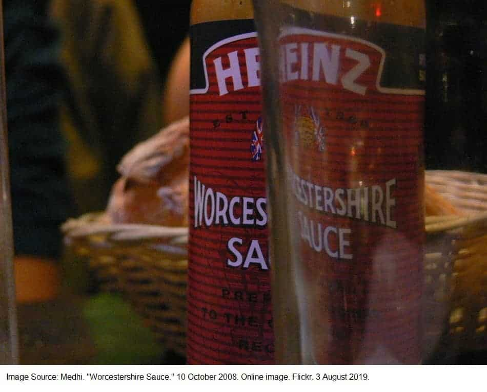Is Worcestershire sauce vegan?