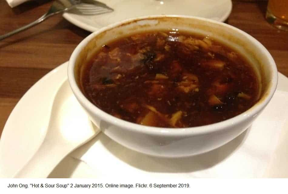 Is hot and sour soup vegetarian? Is hot and sour soup vegan?