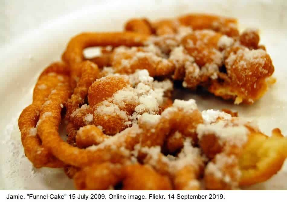 Are funnel cakes vegan? Are funnel cakes vegetarian?